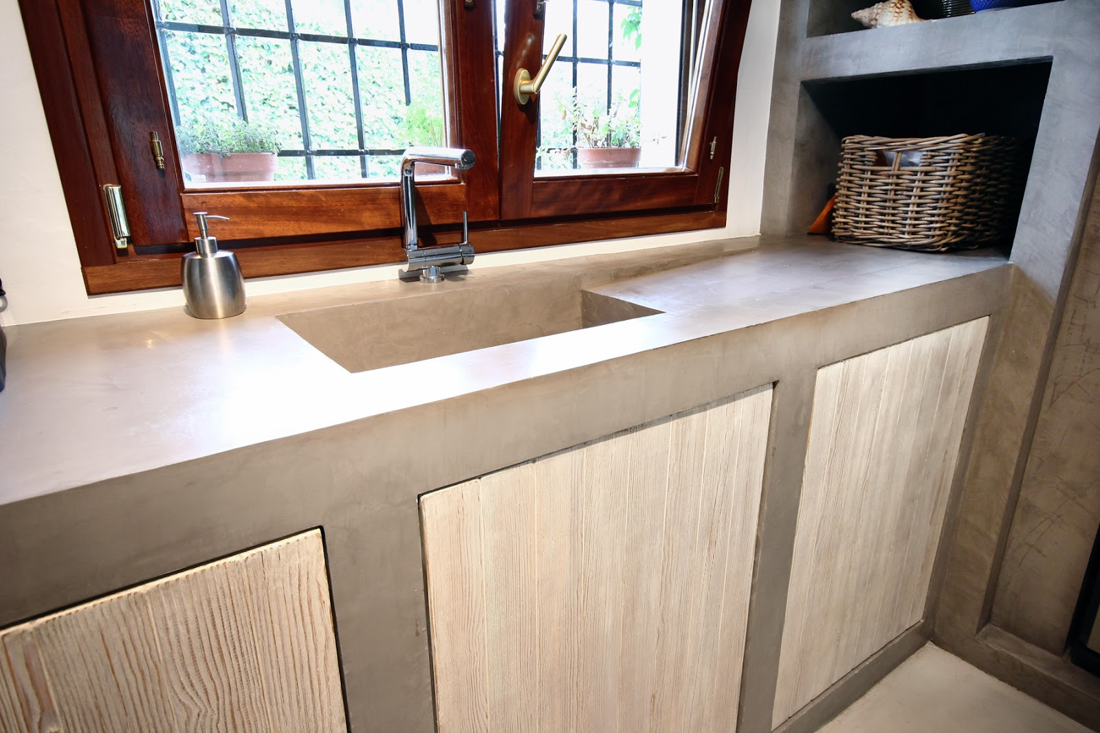 Pavimentos de dise o muebles de microcemento for Muebles microcemento