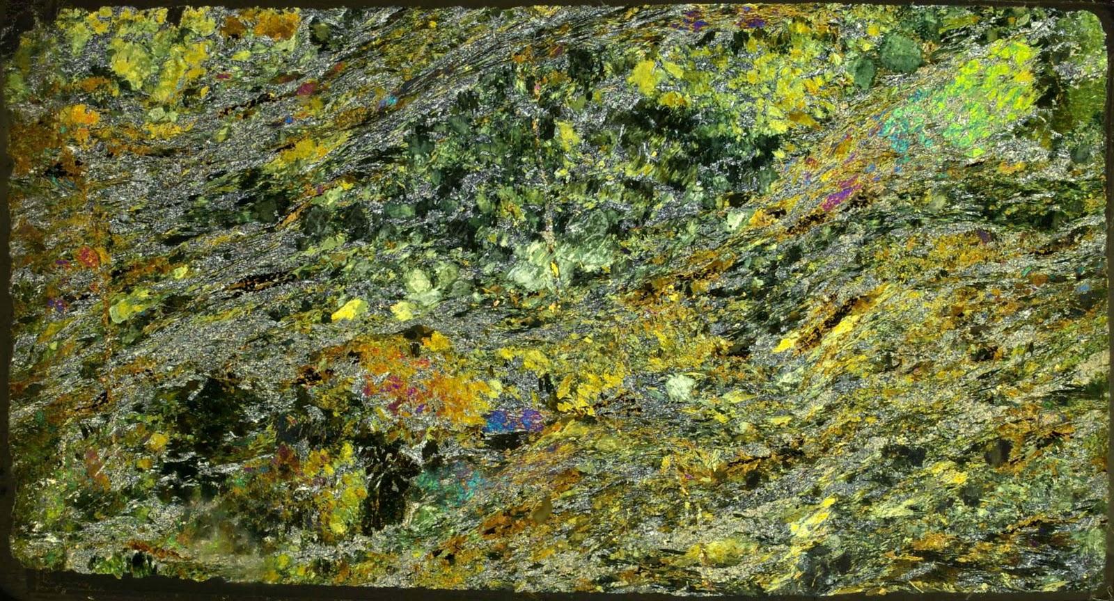 Actinolite Thin Section Actinolite Thin Section