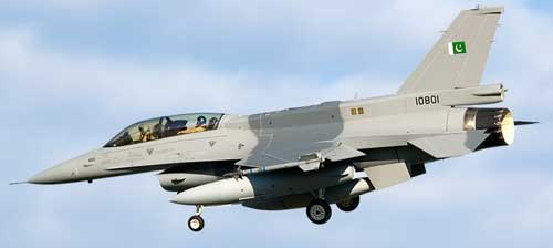 Pakistan Air Force (PAF) F-16 Multirole Fighter Jets