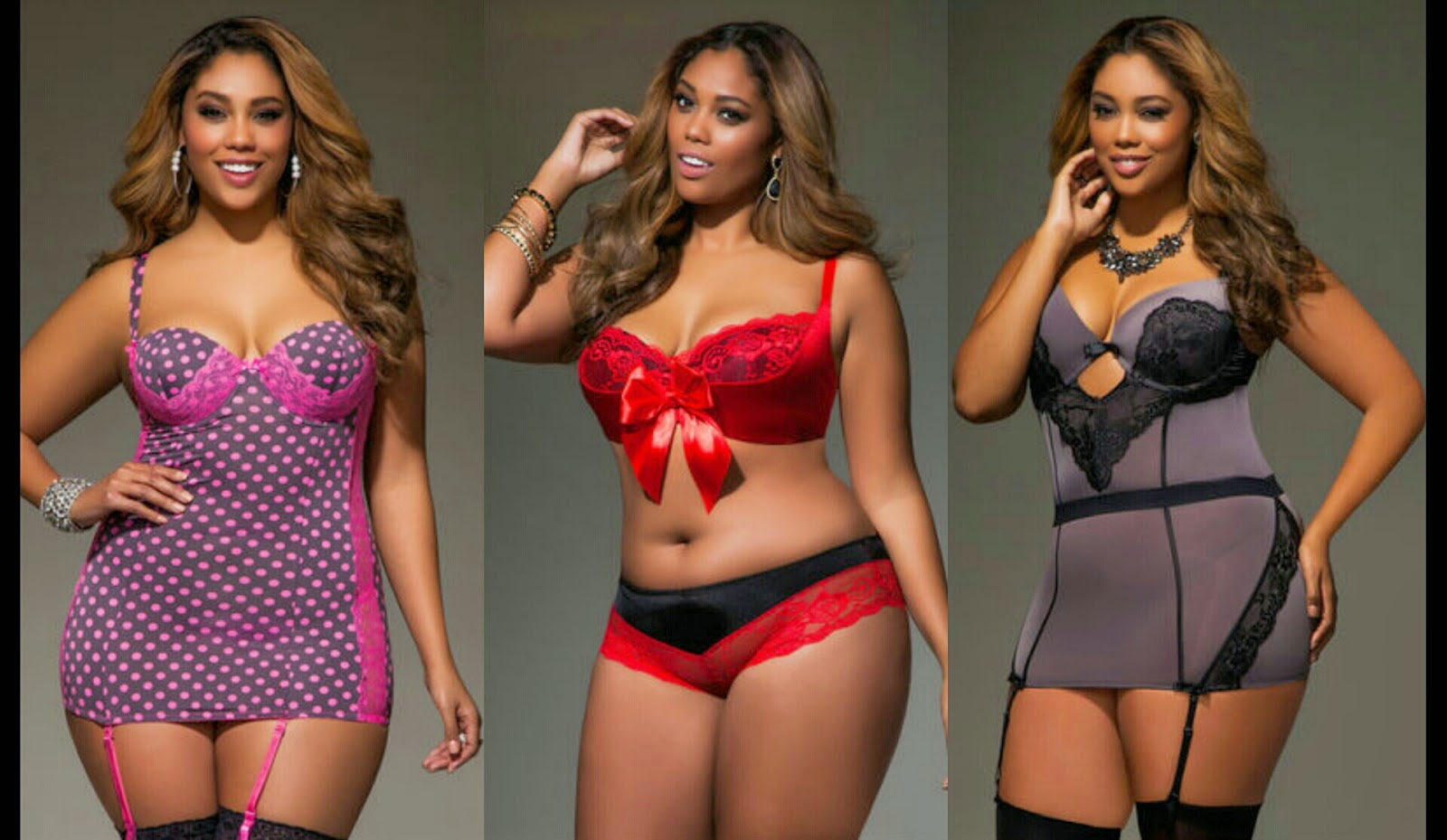 Ashley Stewart Intimates Collection