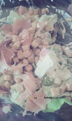 salad, chicken, yogourt, healthy
