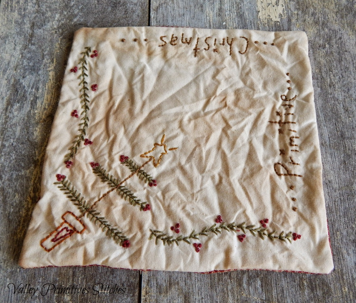 Valley Primitive Stitches
