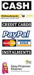 Cara pembayaran/Ansuran Mudah