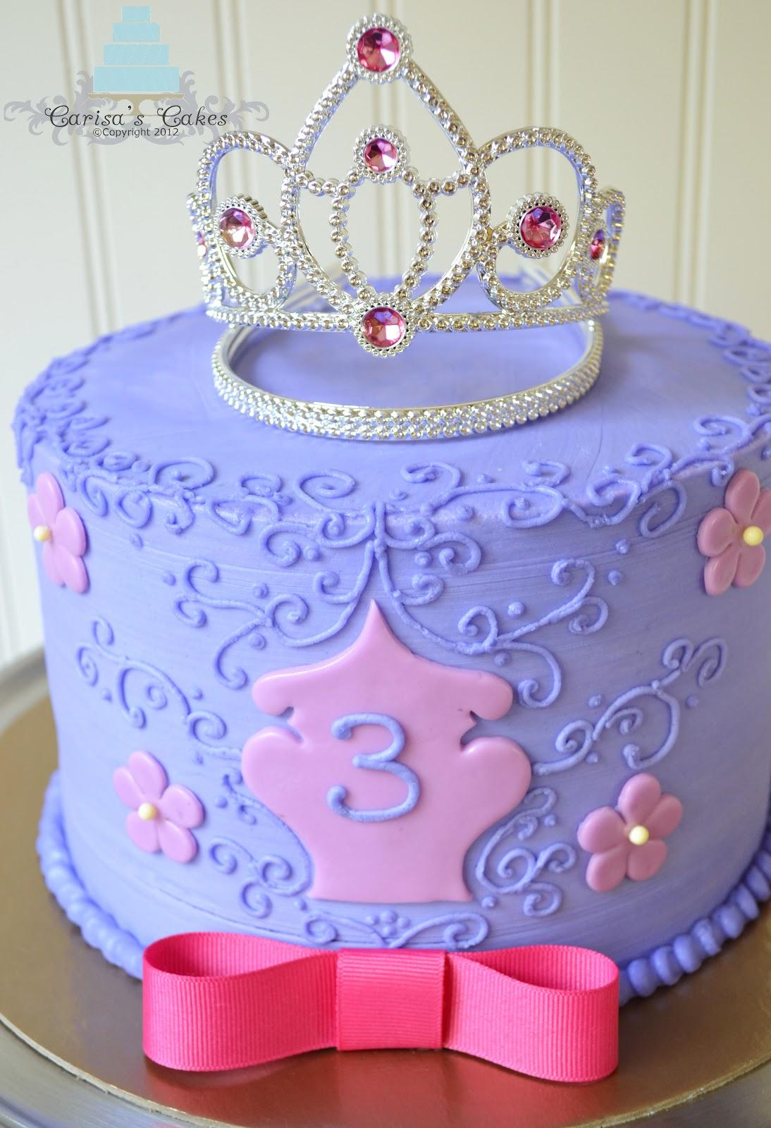 Carisa s Cakes: Princess Themed Cake