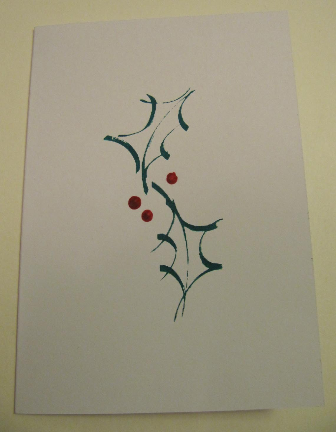 Textile Snippets: Printed and stitched Christmas Cards