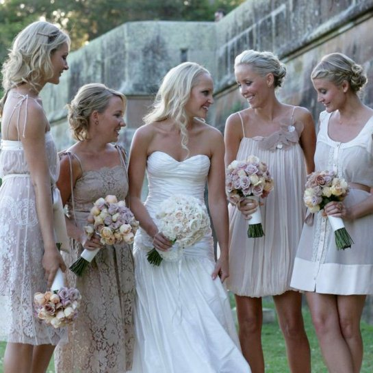 Wedding Spectacular Different Bridesmaid Dresses 93