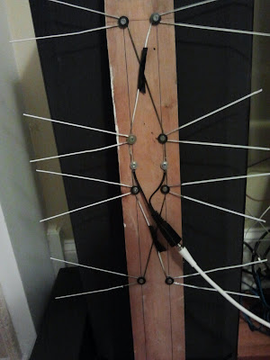 ARCANE RADIO TRIVIA  Homebrew TV Antenna