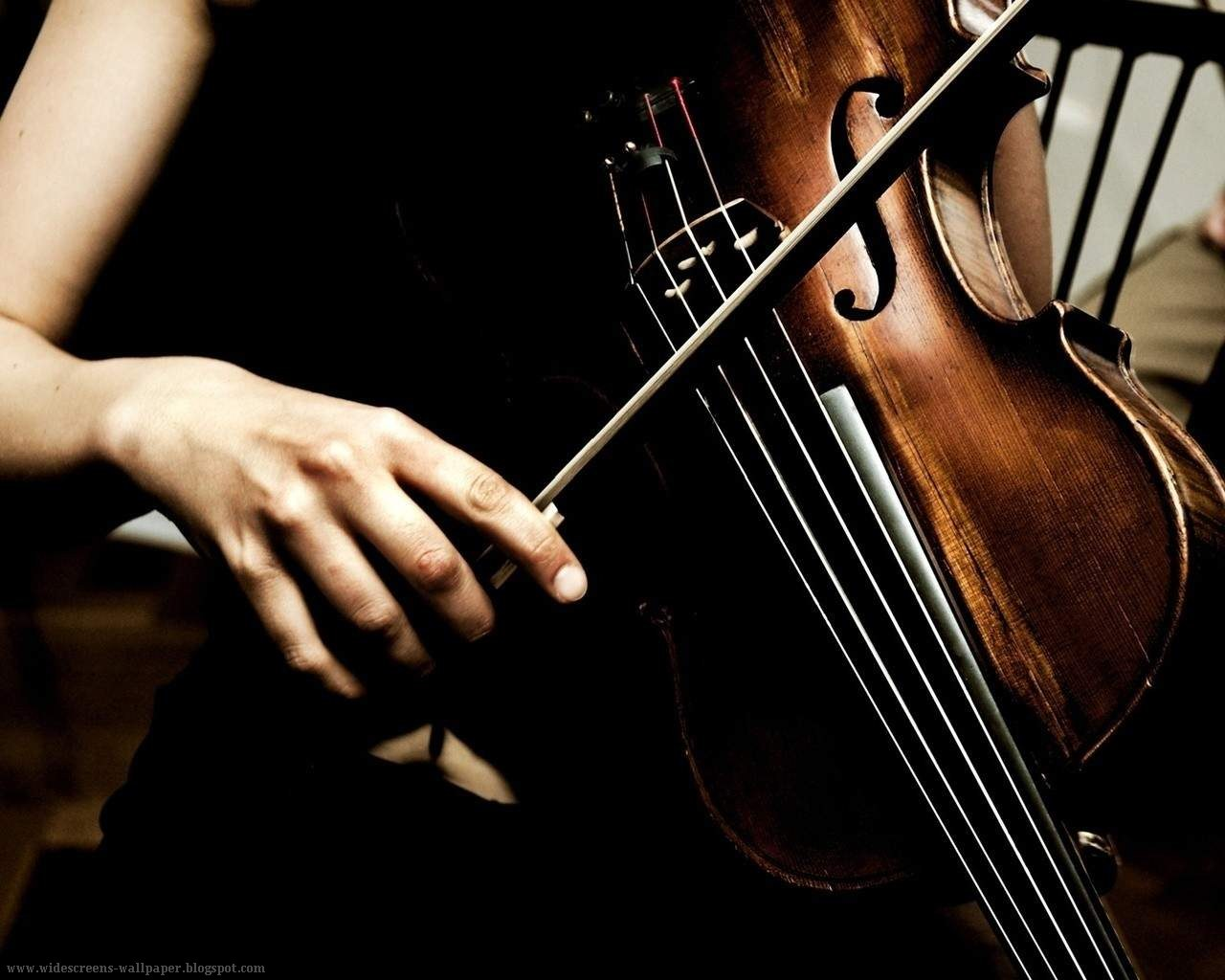 Girls playing violin wallpaper - Music Violins Wallpapers