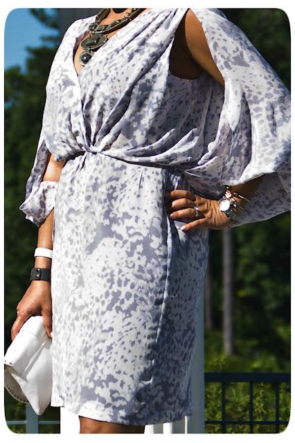 Thakoon silk crepe de chine dress