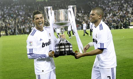real madrid copa del rey 2011. Real Madrid have come out