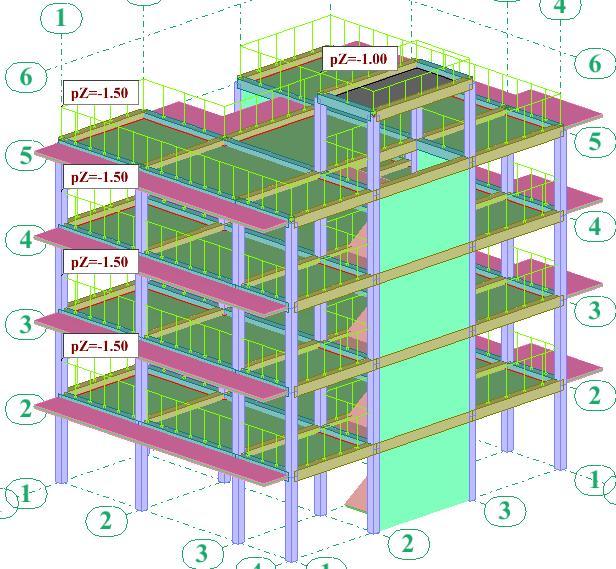 Les poutres principe du b ton arm b timent et travaux publics - Structure poteau poutre ...