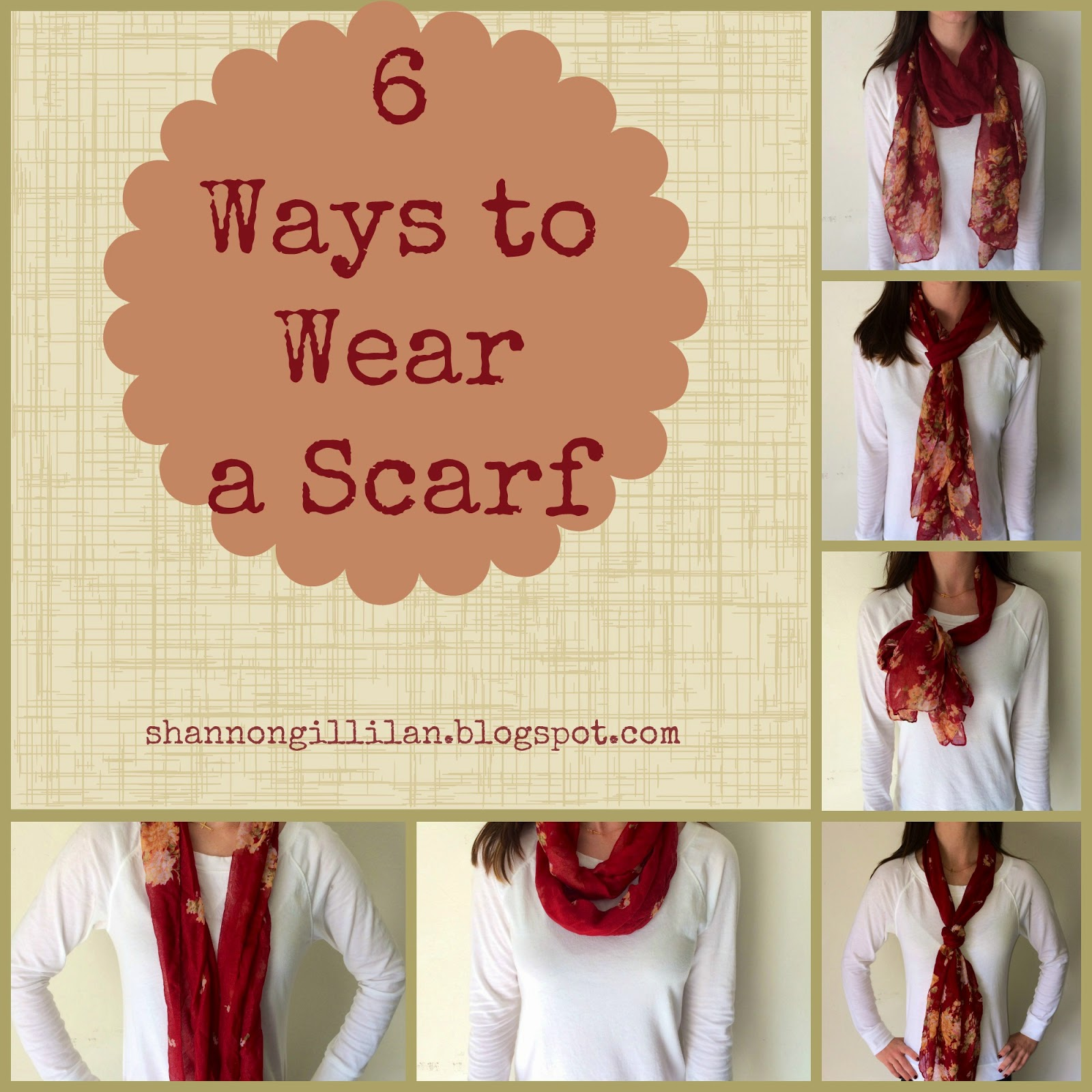 6 ways to wear a scarf fashionable fit fabulous 6