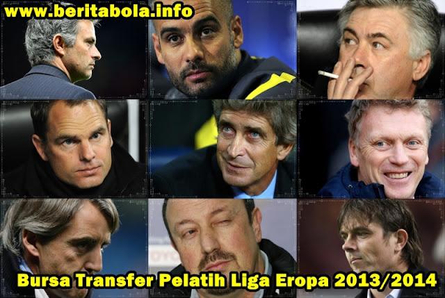 Bursa+Transfer+Pelatih+Baru+Liga+Top+Eropa+2013 2014 Bursa Transfer