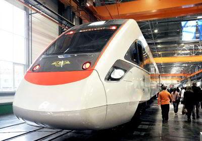 Фото Укринформ: поезд