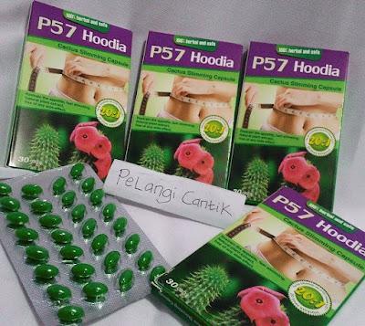 Ready Stock P57 Hoodia Slimming Capsule Pelangsing Pembakar Lemak