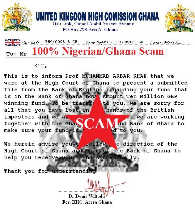 FACT CHECK Nigerian 419 Scam  snopescom