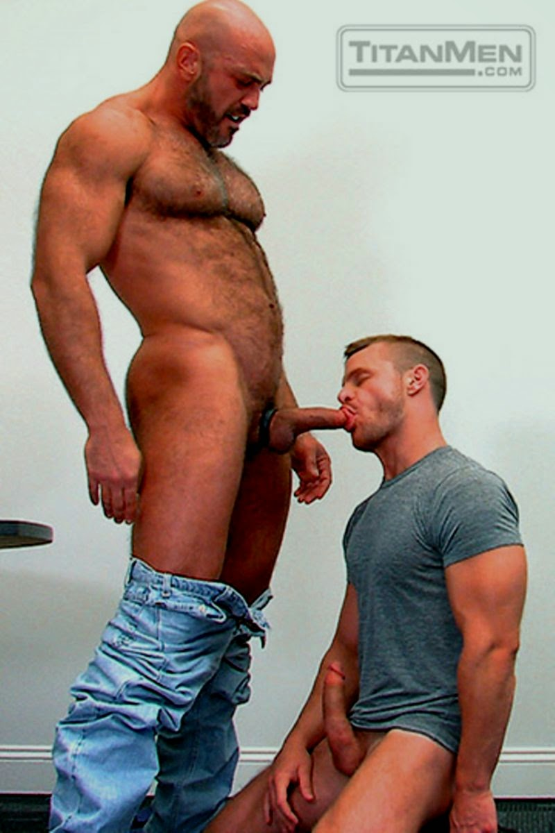 Daddy muscle hairy