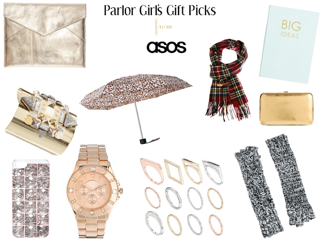 holiday gift guide from asos