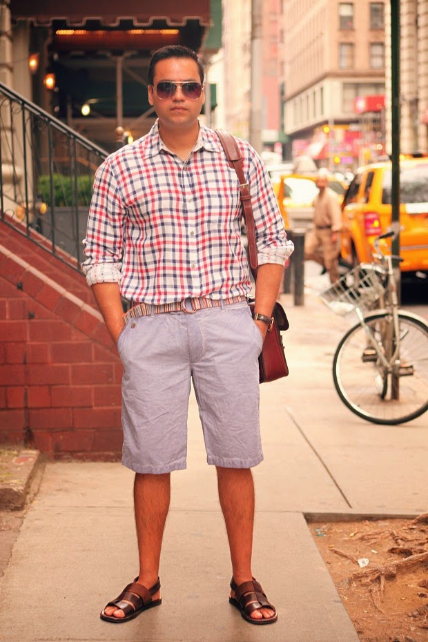 Men's Fashion, Casual Wear, Men's Travel Wear, New York City, Tanvii.com