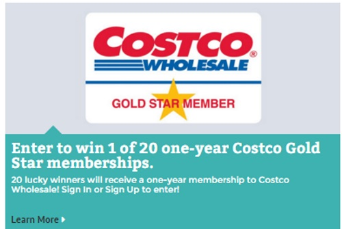 General Mills Costco Gold Star Membership Giveaway