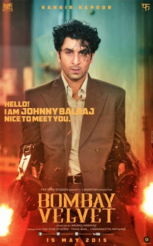 Bombay Velvet (2015) Movie Poster No. 1