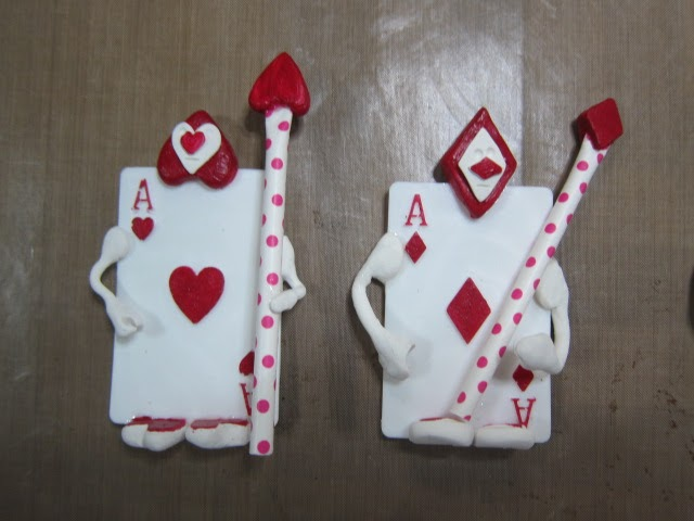 Natasha\'ScrapbooKorner: My Clay Adventure Card Soldiers Alice in ...