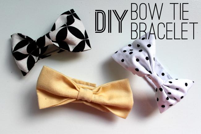 Bow Tie Bracelet Diy Diy Bow Tie Bracelet
