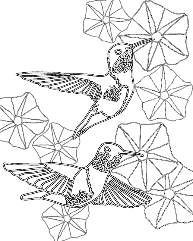 Coloring pages of hummingbirds best coloring pages for Coloring pages of hummingbirds