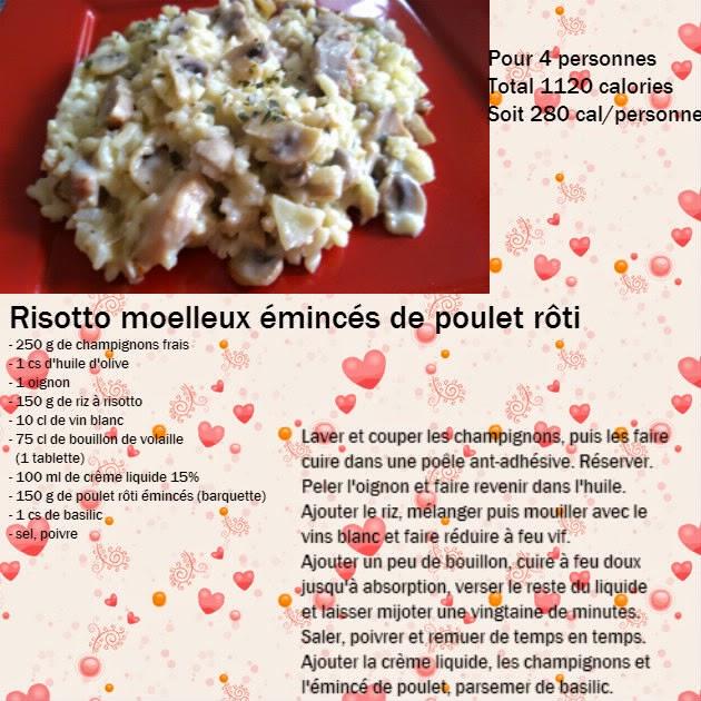 Recettes l g res et gourmandes de marie laure risotto - Cuisiner des blancs de poulet moelleux ...