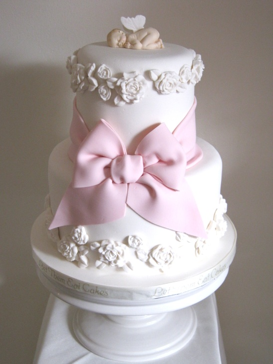 Cake Ideas For Girl Baptism : Let Them Eat Cakes: Rosy - Revisited