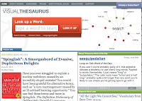 Visual Thesaurus Homepage