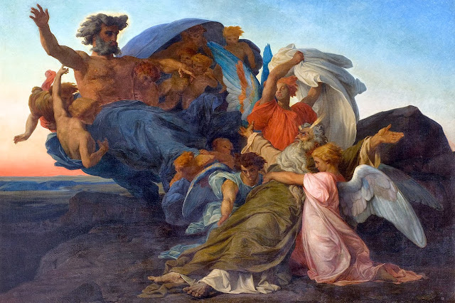 death of moses,alexandre cabanel,painting