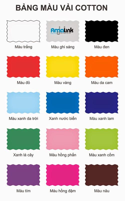 Chọn màu áo lớp