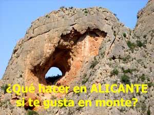 ¿Qué hacer en Alicante si te gusta el monte?