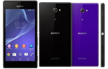 Sony Xperia M2 sudah Resmi masuk pasar Indonesia, Harga 3,1 juta