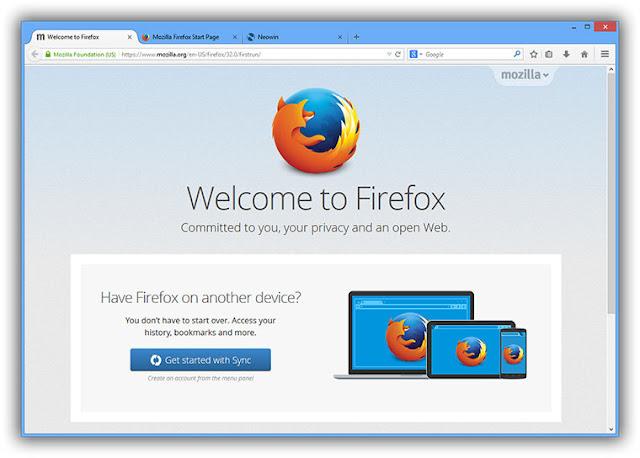 Download Firefox 40.0.1 phát hành cho windows 10 mới nhất