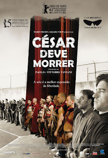 "Poster do filme ""César Deve Morrer"""