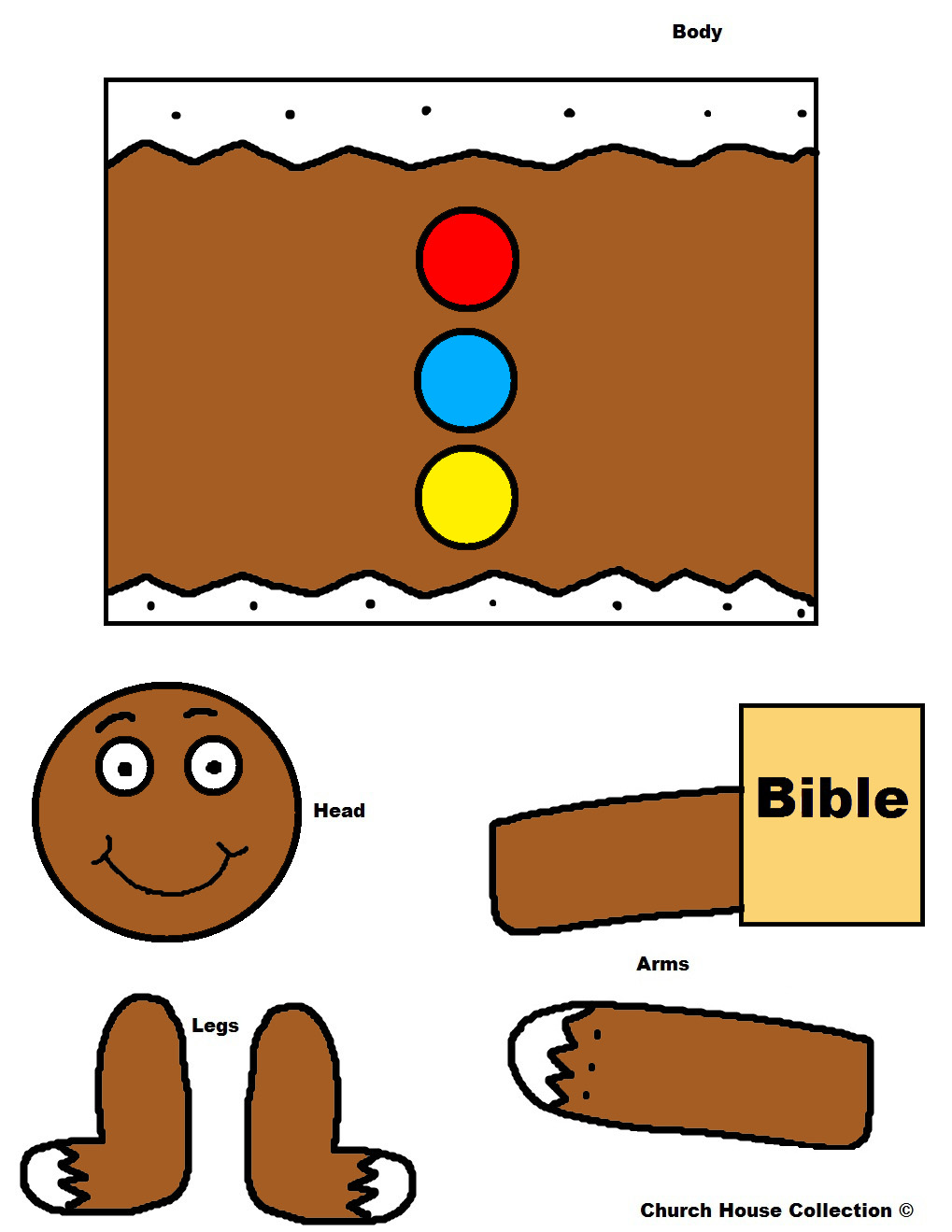 Church House Collection Blog: Gingerbread With Bible Toilet Paper Roll ...