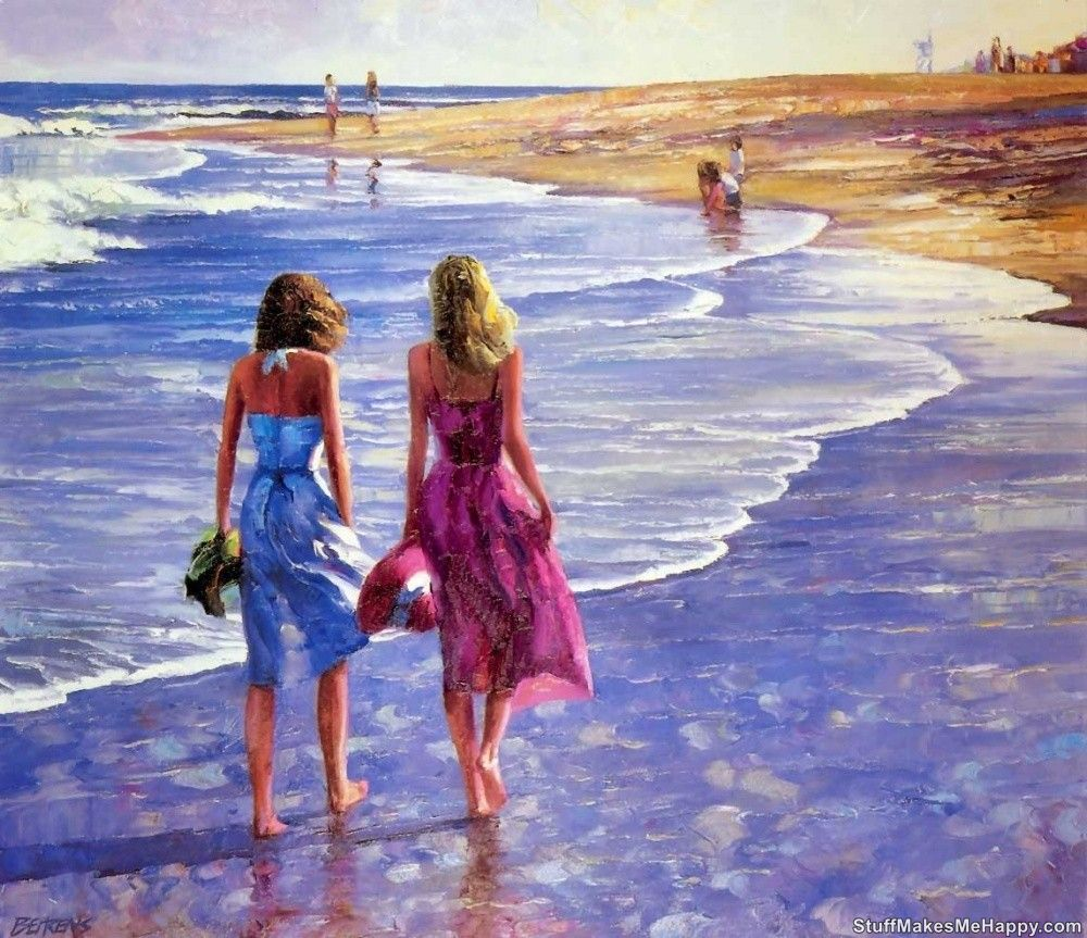 Memories of the Summer in The Illustrations of Howard Behrens