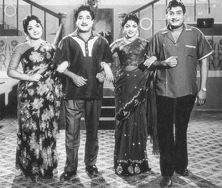 Shivaji Ganesan & Balaji in 'Bale Pandiya' Movie