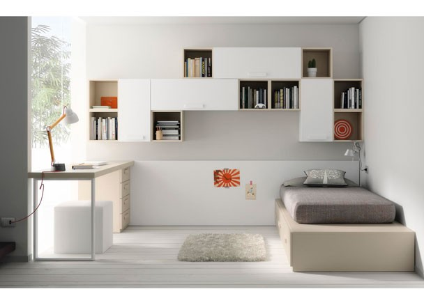 Como decorar un dormitorio juvenil for Muebles para decorar