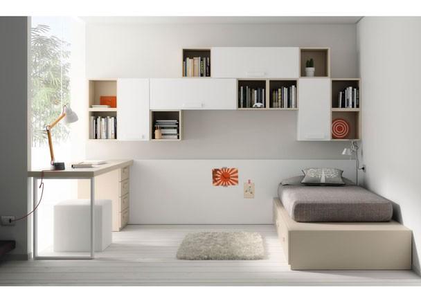 Como decorar un dormitorio juvenil for Muebles dormitorio infantil juvenil