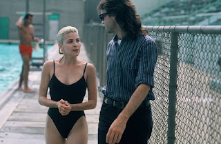 Sherilyn Fenn in one-piece bathing suit Two Moon Junction 1988 movieloversreviews.blogspot.com