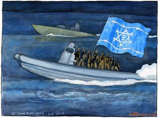 Israeli+Pirate+Ship 10 Penipuan Besar Tentang Israel