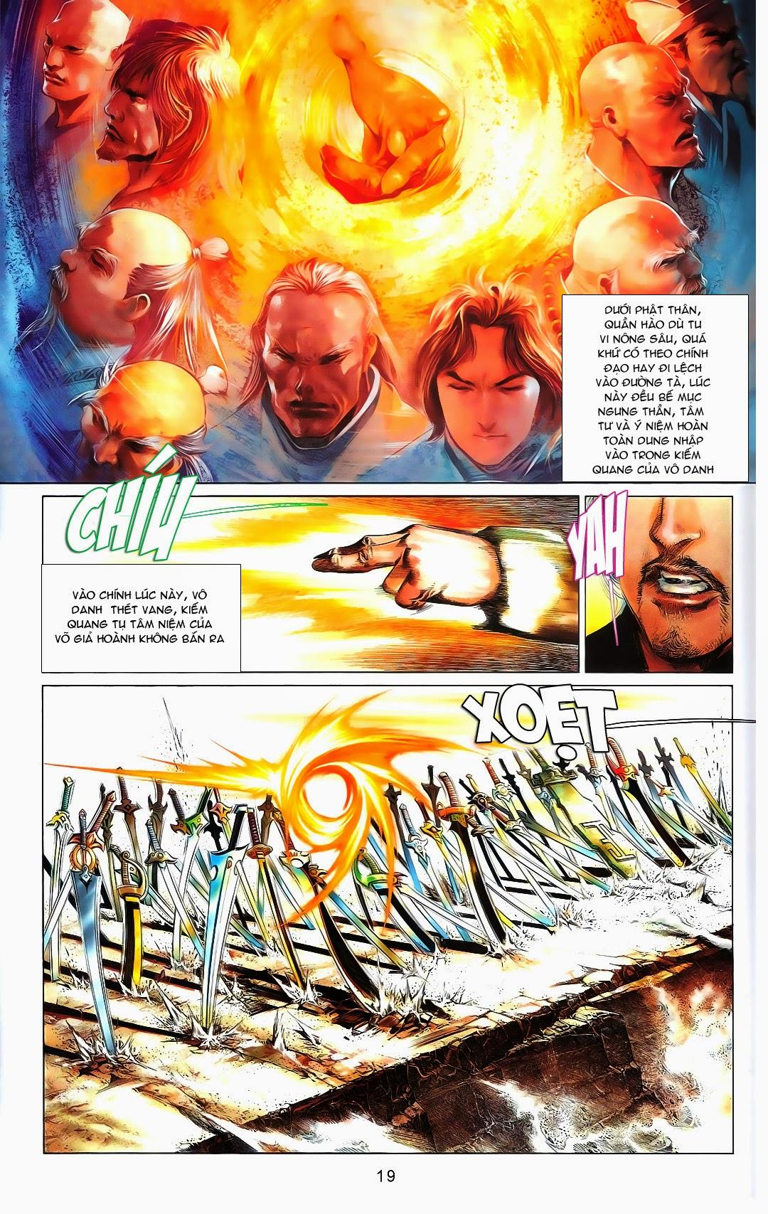 Phong Vân chap 667 Trang 21 - Mangak.info