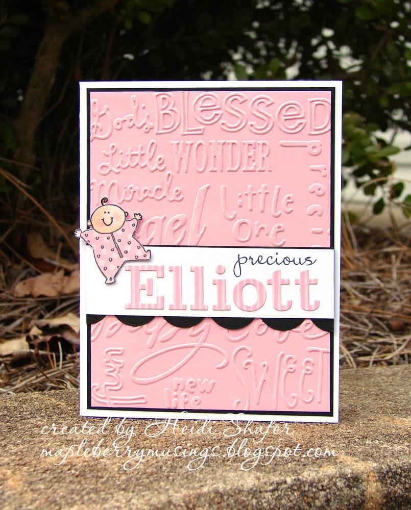 http://mapleberrymusings.blogspot.com/2014/02/precious-elliott.html