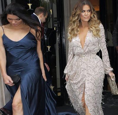Khloe Kardashian Kendall Jenner after photoshop funny