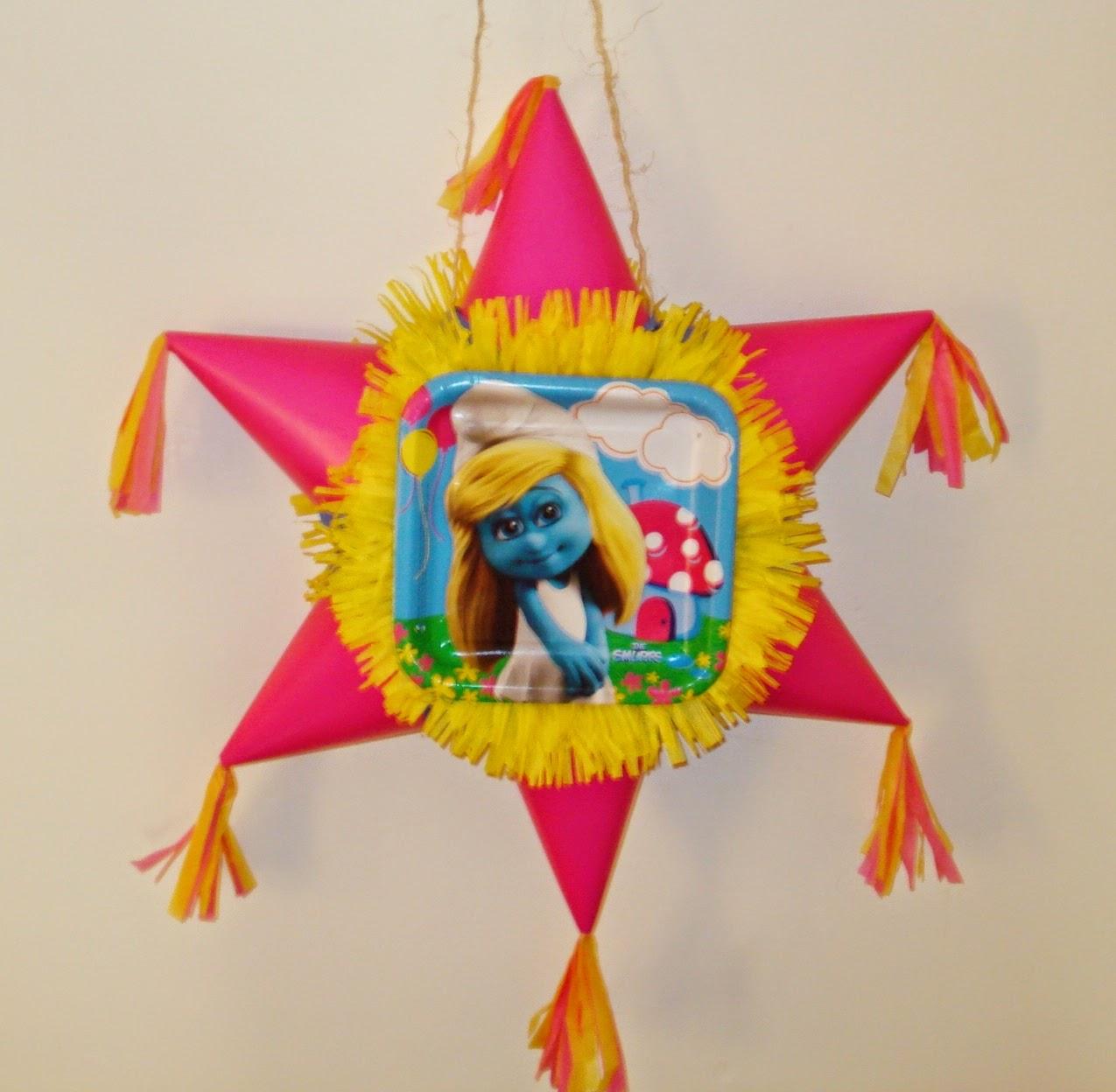 Monster High Ebay >> Piñatas: Smurfs pinatas (los pitufos).