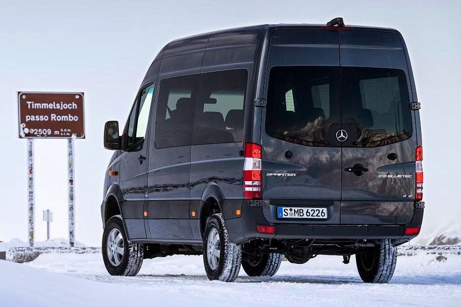 2014 mercedes benz sprinter 4x4 launched autoesque for Mercedes benz sprinter bluetec