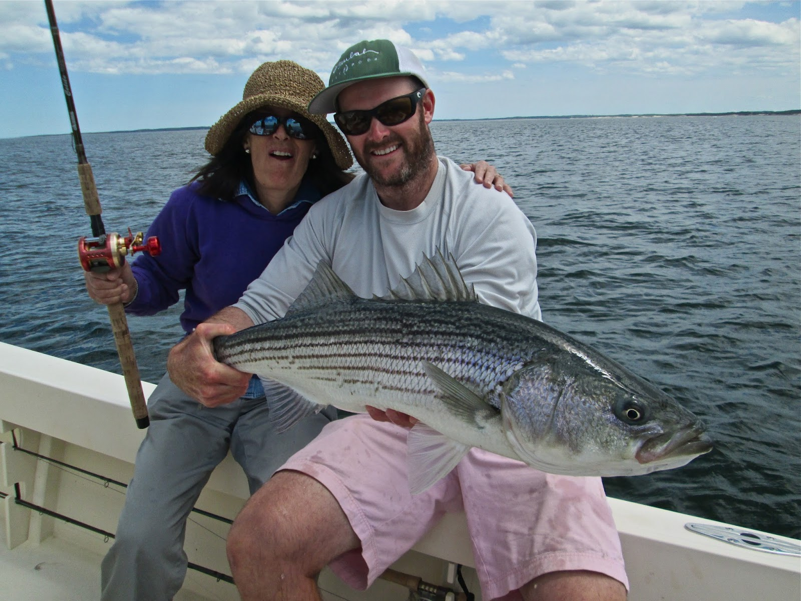 Boston fly fishing and report plum island striped bass for Fishing for striped bass